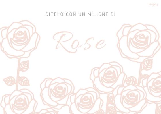Ditelo con un Milione di Rose