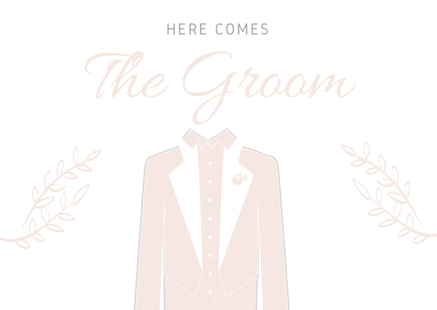 Here comes the Groom