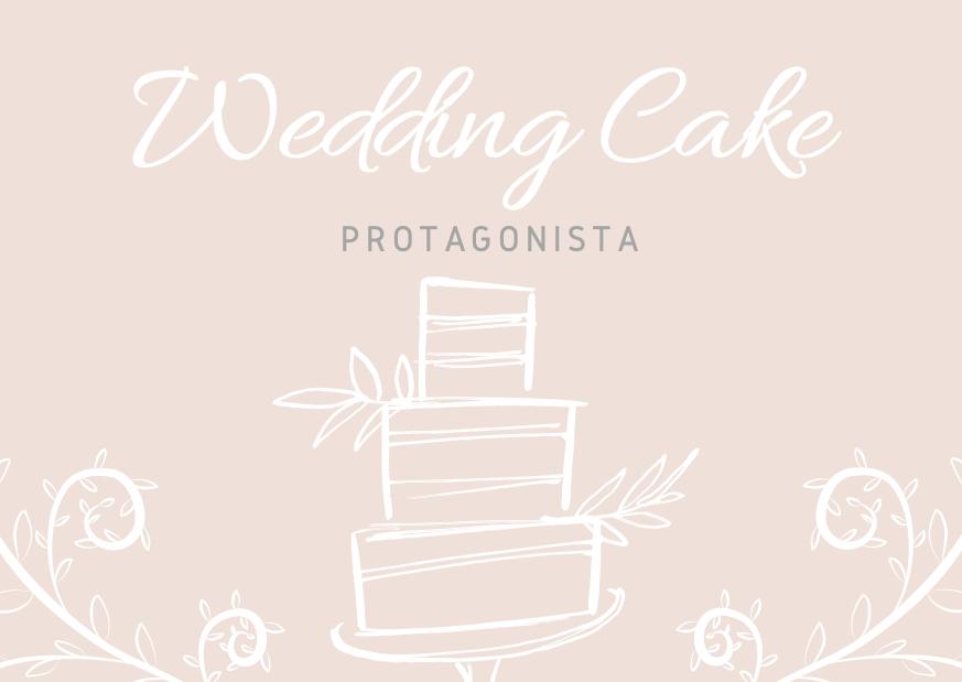 Wedding Cake Protagonista