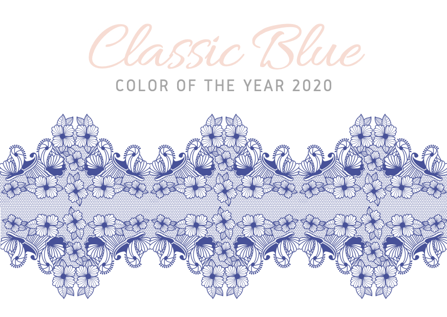 Classic Blue: color of the year 2020