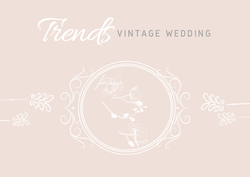 Trends: Vintage Wedding
