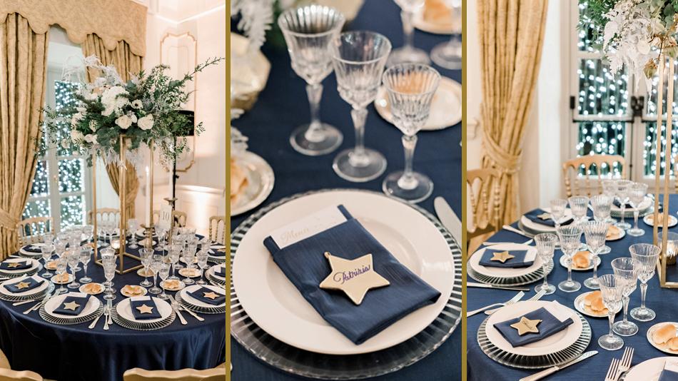 Winter Wedding Mide en Place